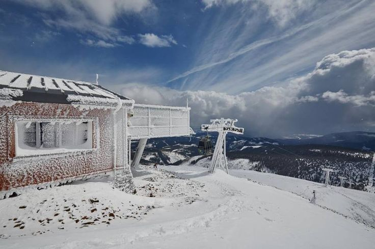 Giant Mountains - Pec pod Sněžkou- the Winter is tough, but beautiful!