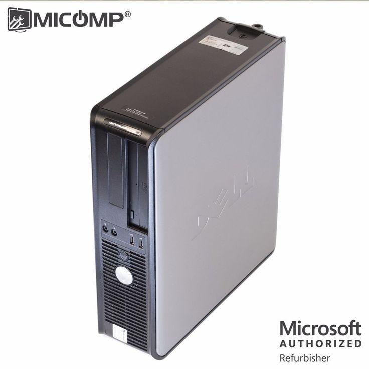 MICOMP Dell Desktop Computer PC Core 2 Duo 3.0Ghz 4GB RAM 1TB Windows 7 WIFI…