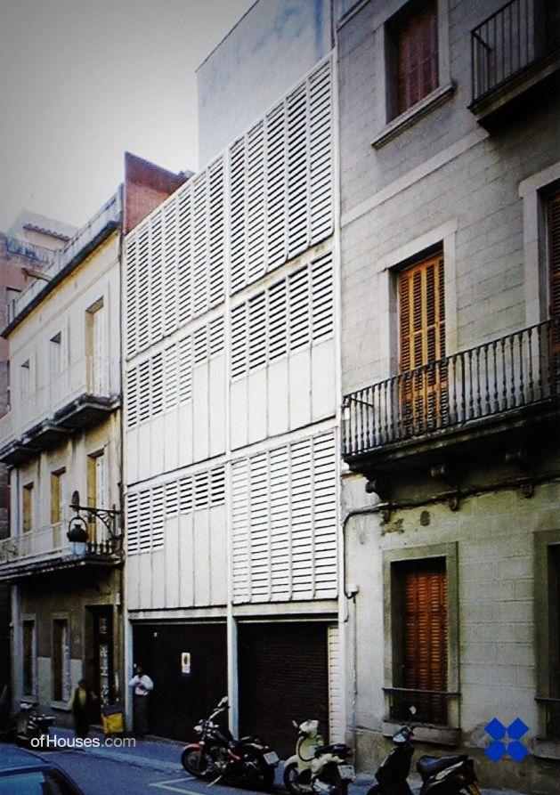José Antonio Coderch /// Tàpies House /// Barcelona, Spain /// 1960