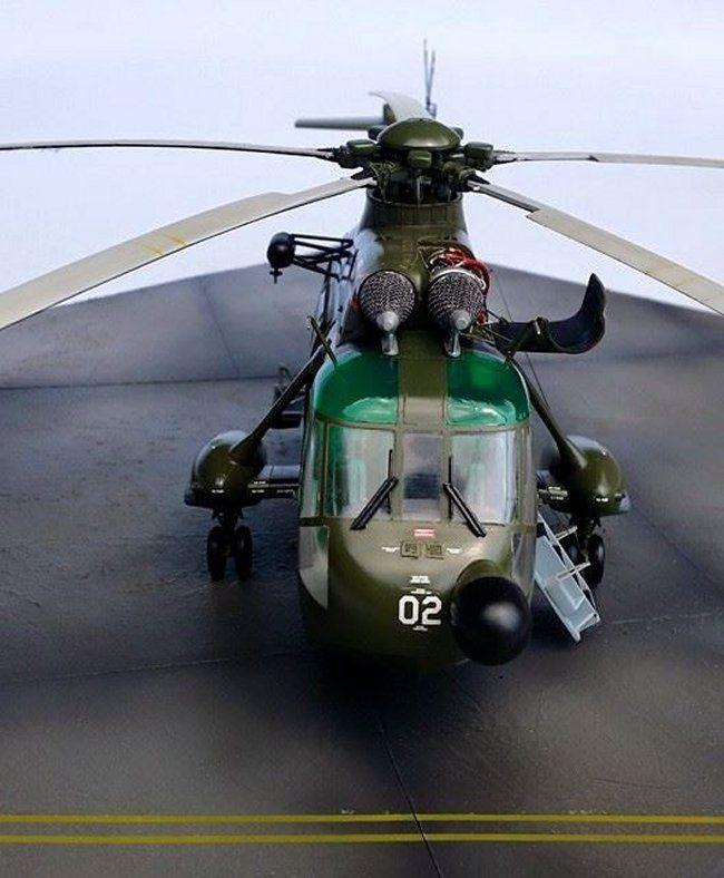 /48 Hasegawa S-61A-4 NURI RMAF by Nazaruddin Hashim