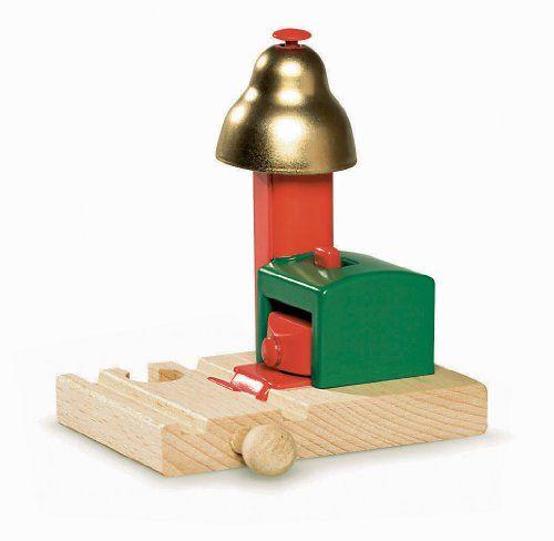 Brio – 33754 – Circuits de train en bois – Signal à cloche magnétique | Your #1 Source for Toys and Games