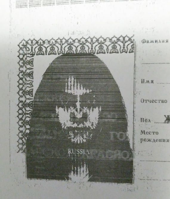 The scan of my wife passport... I'm scared to sleep with her...