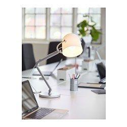 IKEA - SVIRVEL, ワークランプ, , アームとヘッドを動かして光の向きを調節できます手もとを集中的に明るく照らすので、読書などに最適です