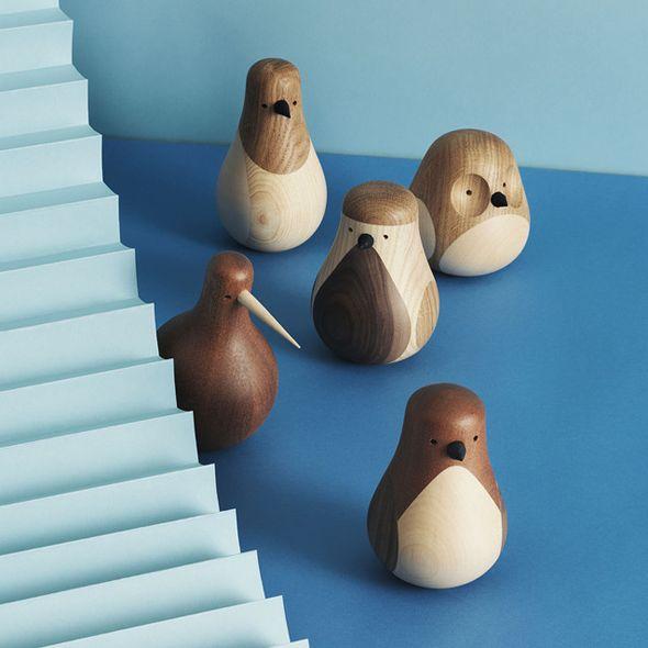 Re-turned birds by Lars Beller Fjetland