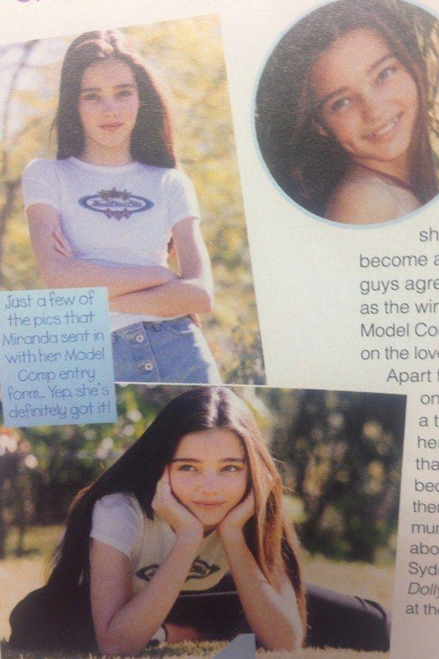 In April 1997, Miranda won the annual Dolly /Impulse model competition.