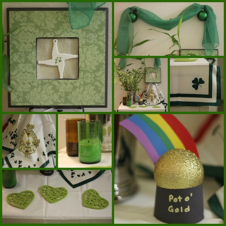 St patrick s day decorations st patricks day pinterest for Decoration saint patrick