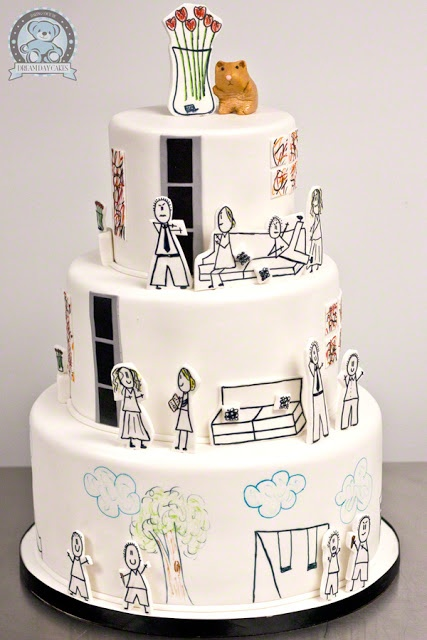 Yup, pretty much sums up your drawing skills lol you should have this for your wedding.
