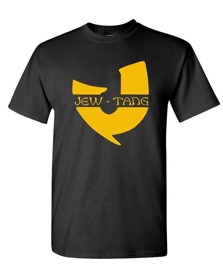 T Shirt Printing Company Crew Neck Jew Tang Clan Funny Rap Joke Gag Gift Lol  Men Short Tall T Shirt #Affiliate
