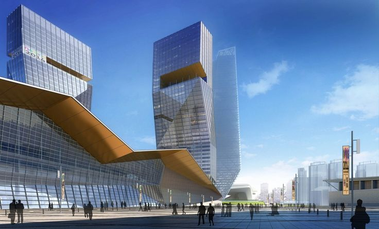 Nanjing Conference and Exhibition Center – South Expansion / tvsdesign