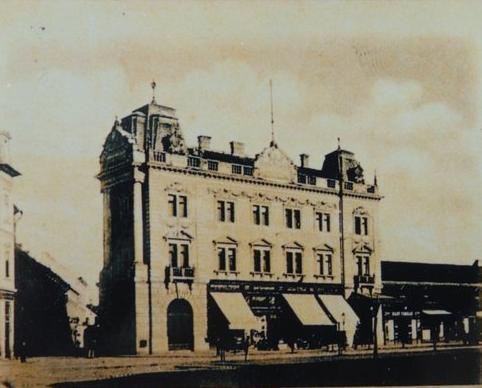 Arad - Hotel Central - 1899