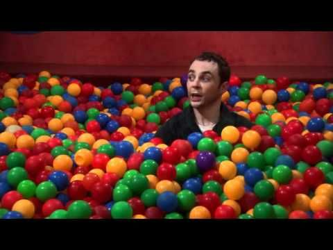 The Big Bang Theory, Sheldon in the ball pit- seriously laughed so hard in this episode
