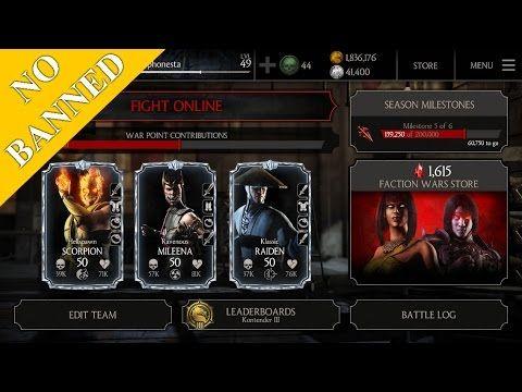 How To Hack Mortal Kombat X 1.9 iOS 10.0.2 NO BANNED / NO JB