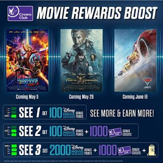 Regal Gives You a Boost This Summer with Disney Movie Rewards