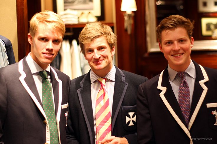 Launch of Jack Carlson's Rowing Blazers book at Ralph Lauren, London