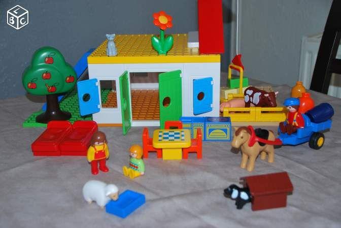 Ferme Playmobil 123 TBE (bibicarine)