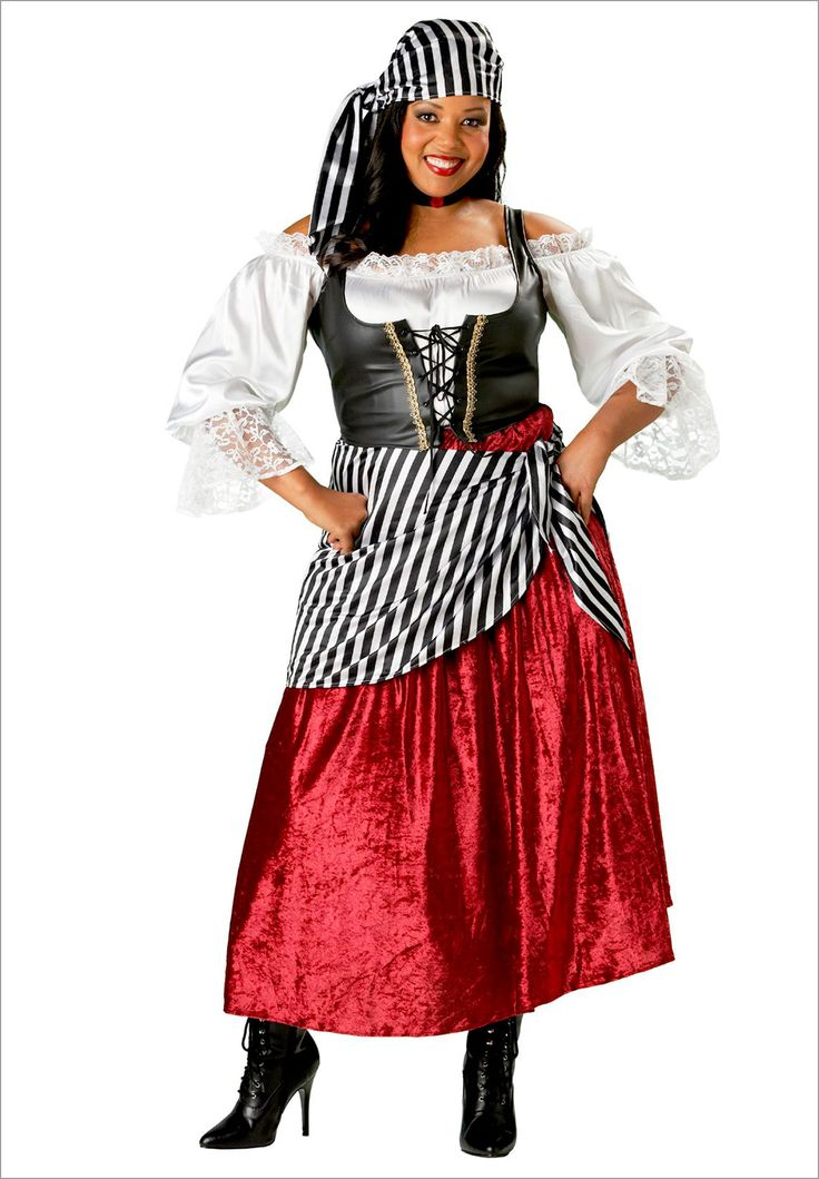 Pirate's Wench Elite Plus Size Adult Halloween Costume | Plus Size Women's costumes | OneStopPlus