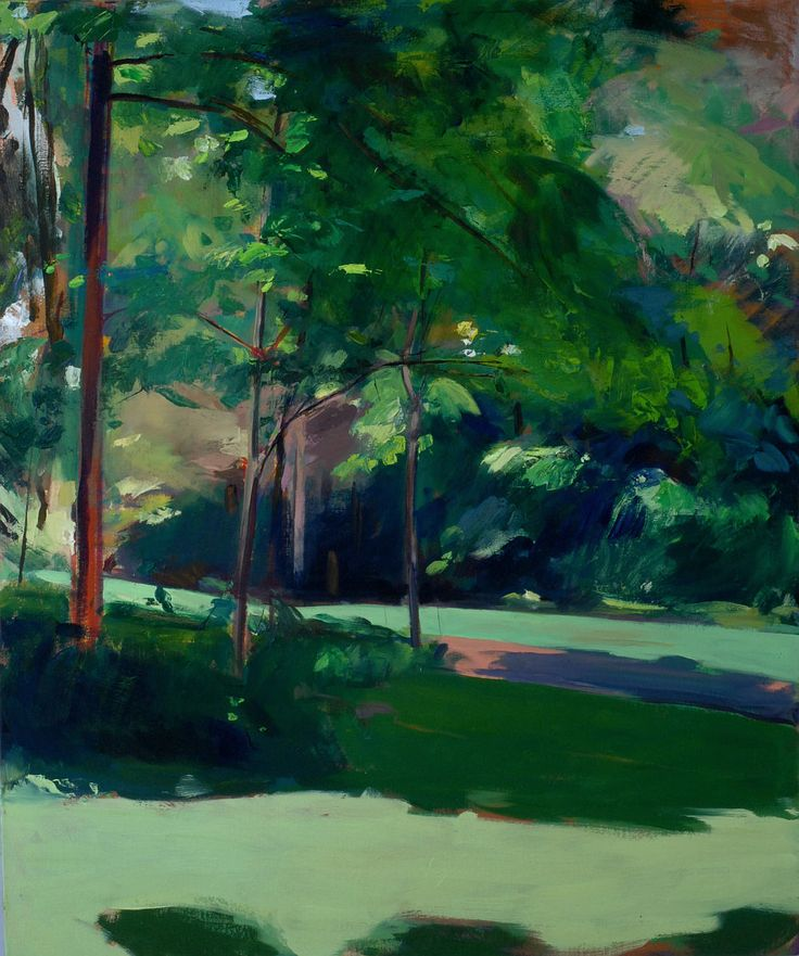 "Clive Pates ""Avon Hall I, Death and Transfiguration"", 2015 Avon Hall Grounds, Washington, Virginia Oil on Linen 36"" x 30"""