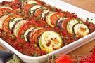 Berinjela assada + tomate