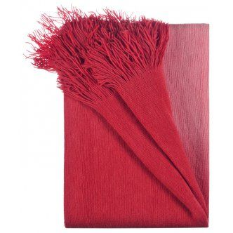 Throw – Rapee Australia Truffle Red Design This Truffle Red Throw would be a beautiful addition to any home. Suitable for the sitting room, bedroom, or in the living room. The Truffle Red Throw would make the perfect gift Cushion Details: · Truffle Red Throw · Cushion size: 127X152cm Ombre Throw Rug With Fringe · Material: Acrylic · Colour: Red