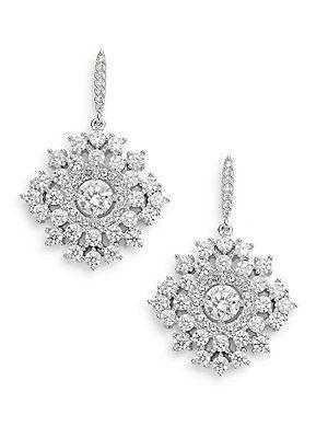 Sweet Embrace Starburst Drop Earrings