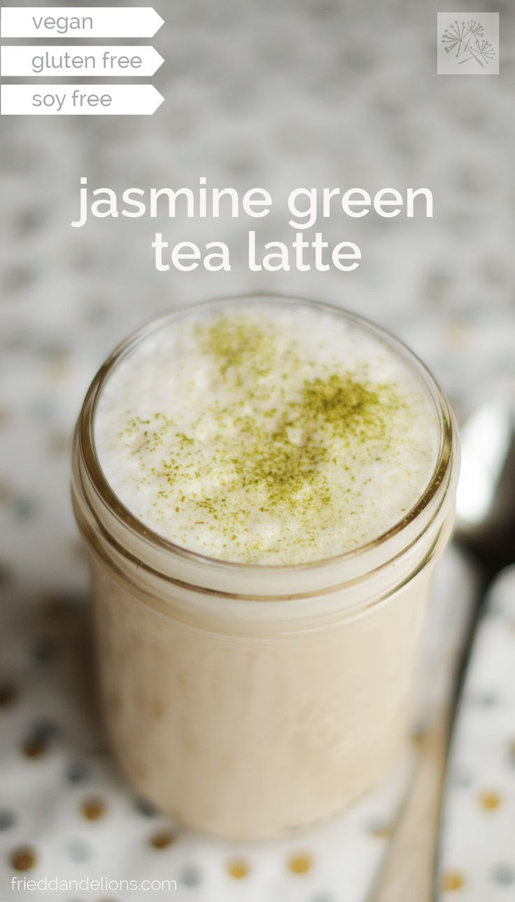 Jasmine Green Tea Latte | Green Tea | Pinterest | Tea latte, Tea and Green  tea latte
