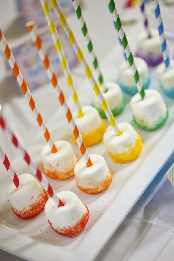 'Over the Rainbow' birthday party | The Frosted Petticoat