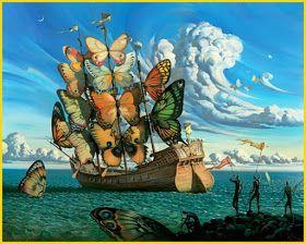 Il Mondo Di Mary Antony Vladimir Kush Surrealismo Arts Kush