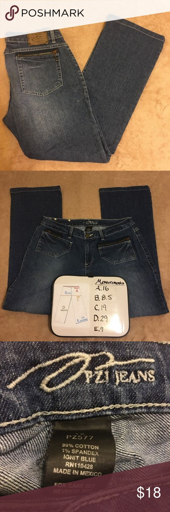 PZI Jeans Great Condition! PZI Jeans Great Condition! There are no tears, flaws, or stains. PZI Jeans