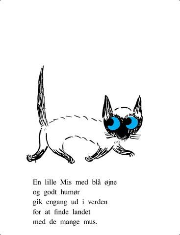 Mis med de blå øjne