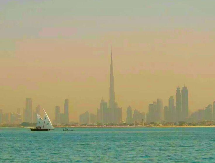 Dubai skyline - Copyright Anna Christoforou