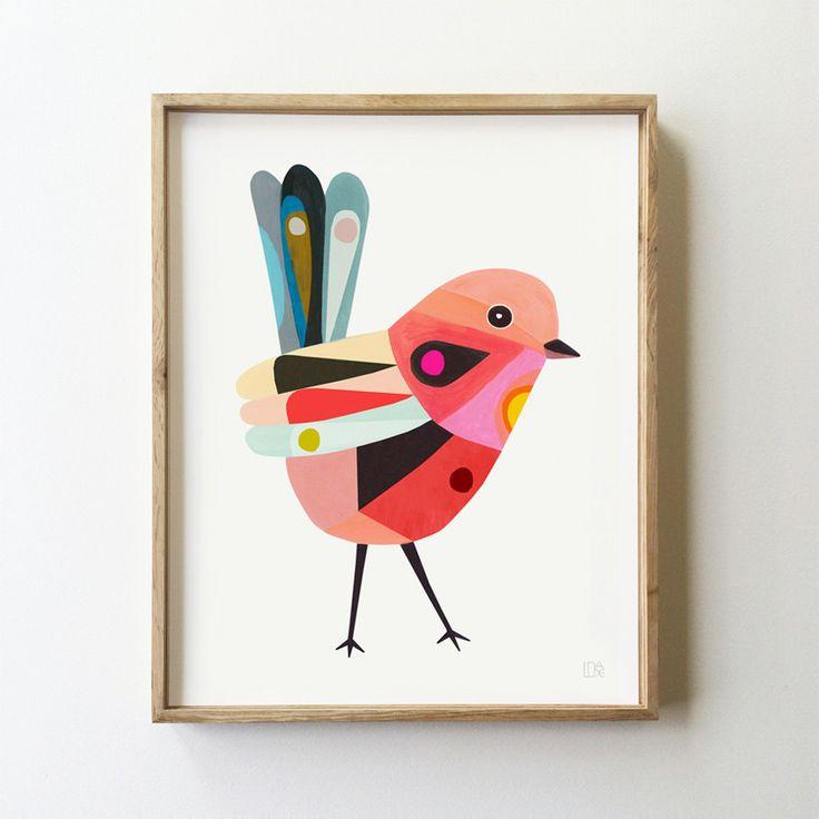 Fairy Wren Art Print