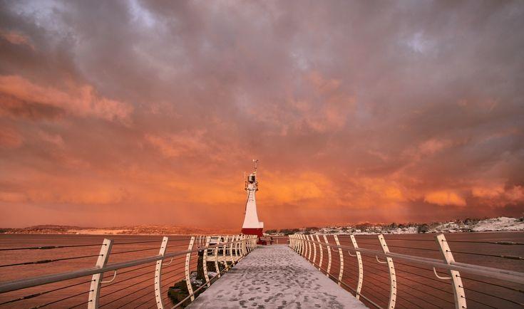 #ogdenpoint #breakwater #VictoriaBC #sunrise