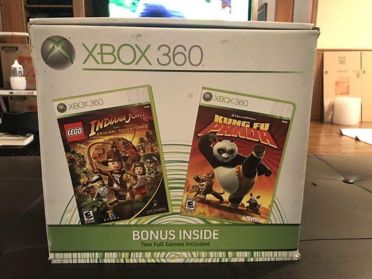 Microsoft Xbox 360 Pro System Bundle 60GB White Console