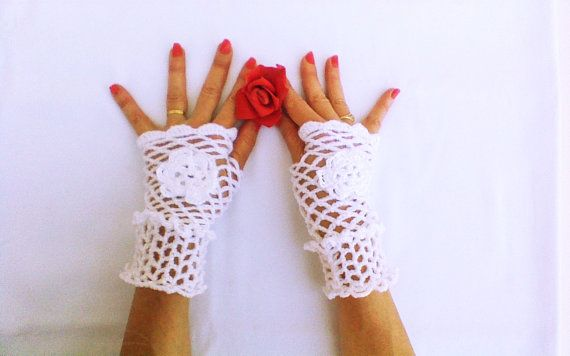 Hey, I found this really awesome Etsy listing at https://www.etsy.com/listing/183287843/fashionable-crochet-wedding-gloves