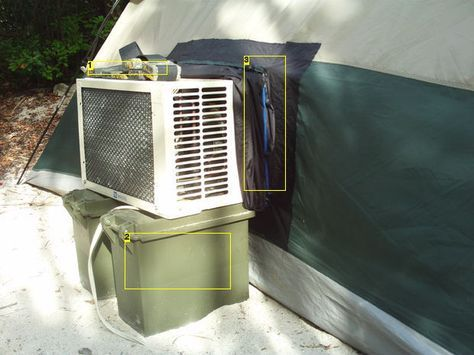 Air Conditoned Tent for Those Hot Months | Camping air ...