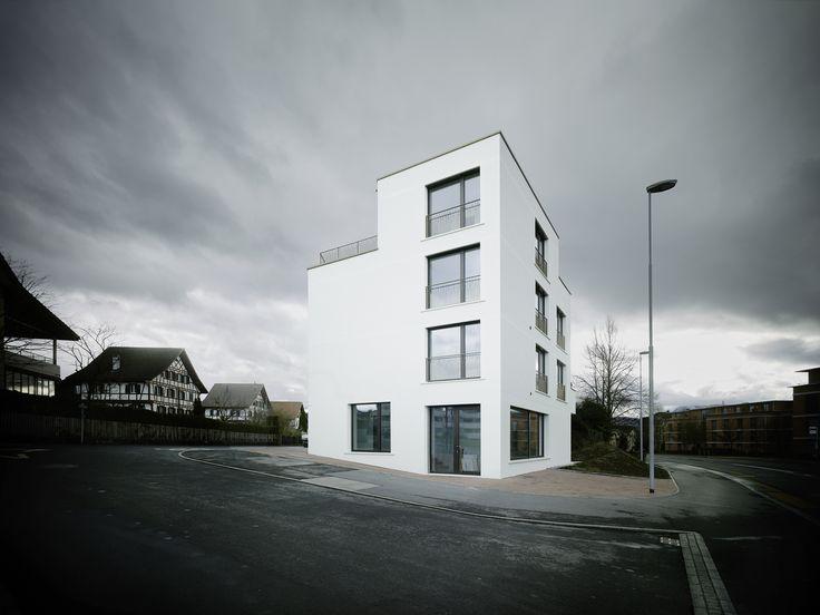 Gallery of Neubau Mehrfamilienhaus Cham / idA - 1
