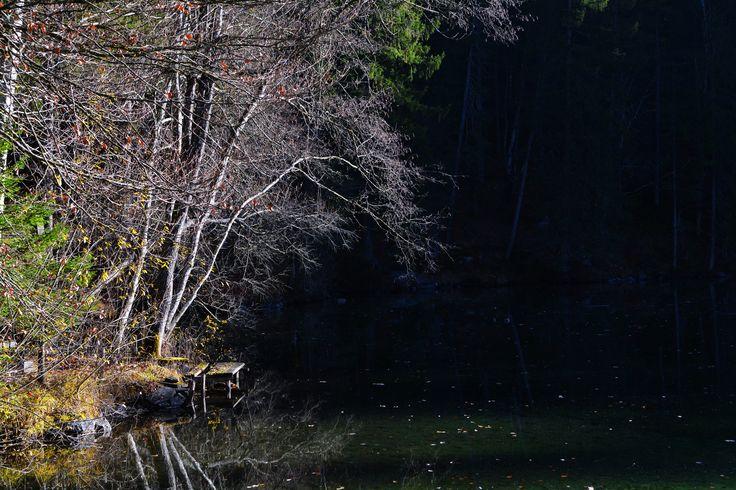 Herbst am Badersee ...