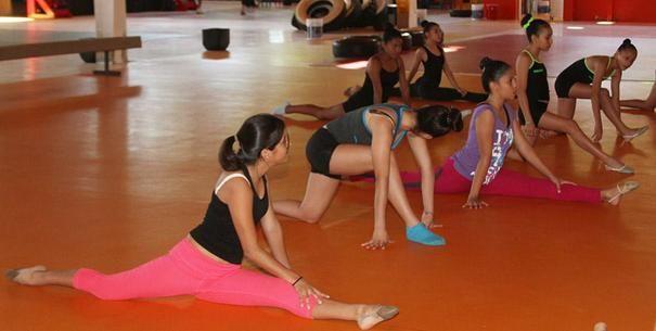 Seleccionan equipo de gimnasia rítmica femenil de Vallarta