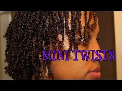 MINI TWISTS, MINI TWISTS, MINI TWISTS!! with an awesome stretch method...threading!