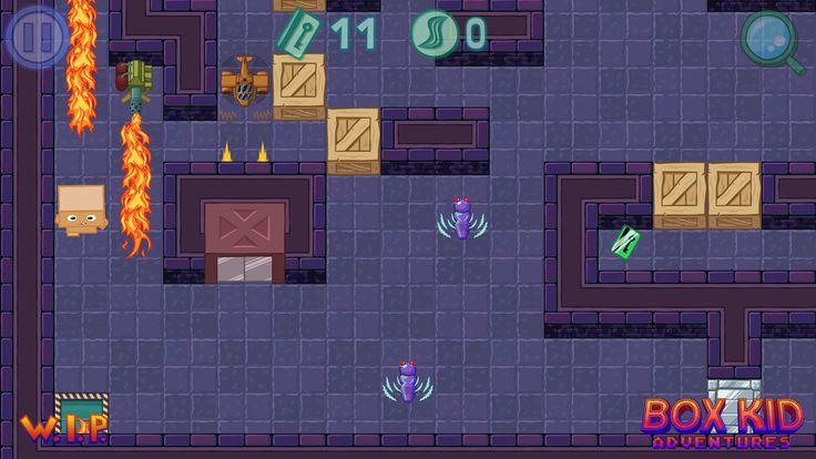 Box Kid :-) http://boxkidadventures.com/ #screenshotsaturday #gamedev #indiedev #polishgamedev #gaming #videogames #puzzle