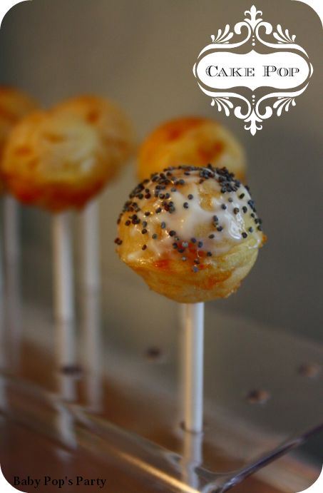 ..DIY.. Cake Pop' Salé ! - BABY POP'S PARTY ! Baby Shower France