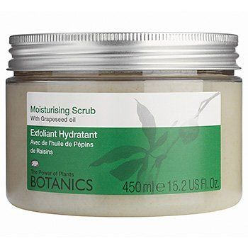 Boots Botanics Moisturising Scrub 15.2 fl oz (450 ml) by Boots. $12.59. Some exfoliators can be too harsh, especially if you also have dry skin. This condi