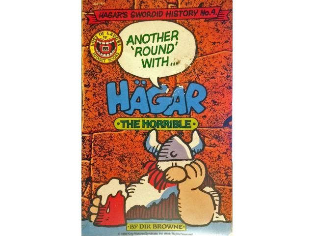 Another Round with Hagar the Horrible (by Dik Browne) - Attic Magazines