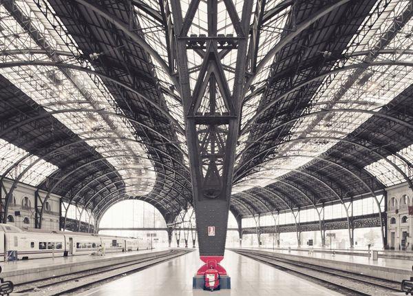 Départ, Alvia train - Barcelona