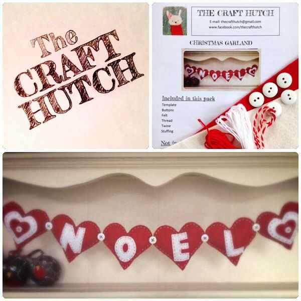 Sew Your Own Christmas Garland kit - pinned by pin4etsy.com