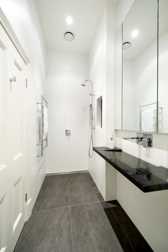 59 best compact ensuite images on pinterest spaces for Modern small ensuite