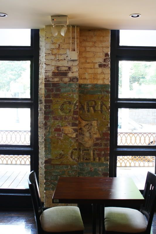 62 best for the columns images on pinterest for Distressed brick wall mural