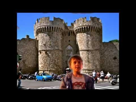Greece Rhodes  castle of Awesomness