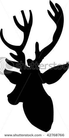 :: deer sillouette