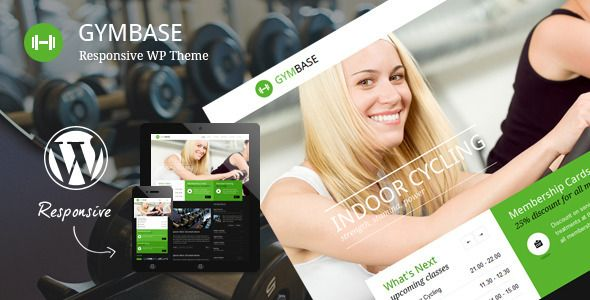 GymBase - Responsive Fitness Gym and Trainers WordPress Theme